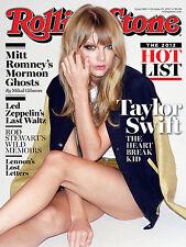 Rollingstone Taylor Swift, Retro Metal Fridge Magnet,100mm x 75mm Novelty Gift