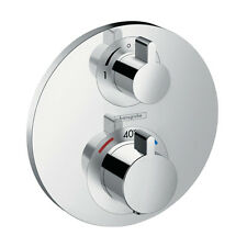 Hansgrohe Thermostatic Ecostat S Shower Mixer Trimset 2 way Diverter 15758000