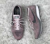 Nike Flyknit Racer Strawberry Shoes Mens Size 9/Womens 10.5 526628 604 Pink