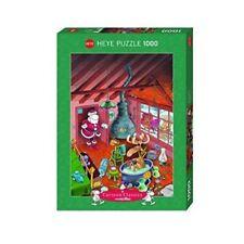 Mordillo Puzzles aus Pappe und 1000-1999 Teilen