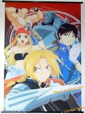 Store manga FULL MEAT ALCHEMIST affiche en tissu Alphonse Winryn Edward figurine