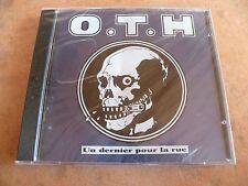UN DERNIER POUR LA RUE - OTH (Berurier noir)  (CD) Neuf sous blister