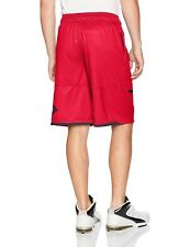 """Under Armour Mens Sc30 Pick N Roll 11"""" Shorts Red W/Black White Size L $39.99"""