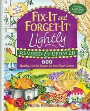 Fix-It and Forget-It Lightly : 600 Healthy, Low-Fat Recipes for Your Slow...