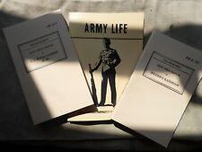 More details for reenactors bundle field manuals fm 21-100 / fm 23-5 & army life 21-13 garand
