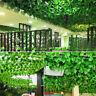 Qu_ AG_ Home Artificial Ivy Vine Leaf Garland Green Rattan Fake Foliage Flowers