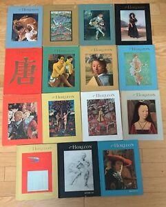 15 Horizon Art Books, 1965 - 1975