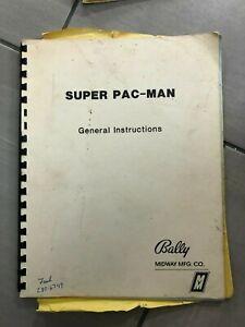Super Pac-Man General Instructions Manual