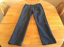 Men's navy trousers size 34R 31L