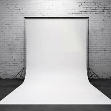 5x7FT White Photography Wall Screen Vinyl Backdrop Studio Photo Props Background