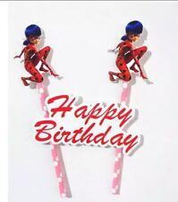 Cake Topper Miraculous : Ladybug & Cat Noir