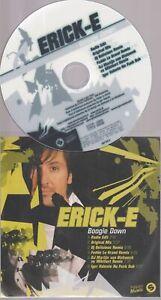 Erick-E Boogie Down Cd Promo Remixes Inclus Fedde Le Grand