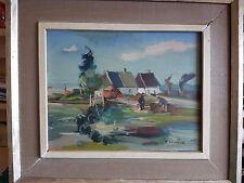 Karl Einar Jönsson 1895 :fisher men Oil painting by Swedish Artist