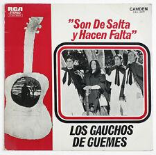 LOS GAUCHOS DE GUEMES Son de salta… folklore argentina rca camden CAS 3377 LP