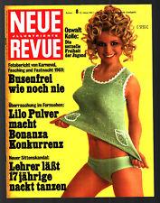 Neue Revue Nr. 8 23.2.1967 Lilo Pulver, Fasching, Rita Cadillac