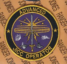 """USAF Air Force JICO Advanced Joint Interface Control Cell Operator 3.5"""" patch"""