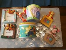 Winnie The pooh And Friends Cups, Xmas Tree Decorations and Picture Frames