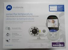 NEW Motorola MBP27T Digital Video Baby Monitor w/ Integrated Thermometer