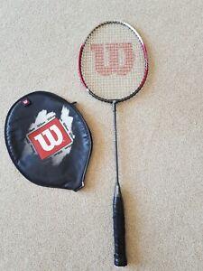 Wilson Titanium Pro Badminton SL4 Racket with Cover