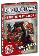 Warhammer Blood Bowl Salón de la Fama paquete de tarjeta de juego especial inglés