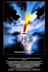 Superman: The Movie POSTER 27 x 40 Christopher Reeve, Margot Kidder, A