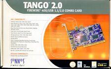 Sonnet Tango 2.0 Firewire & USB 2 card for Beige, G3, G4 & G5 PCI Macs