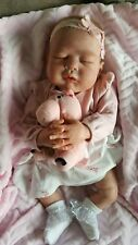Reborn Baby Doll Ivy Jane By Melody Hess Excellent Condition.