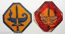 Patch original WWII USA Army Specialized Training Program ASTP (122 )
