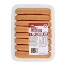 Coles Beef Sausages BBQ Thin 8 Pack 560g