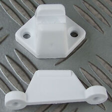 DOOR or LOCKER RETAINER VENETA WHITE CARAVAN CAMPER MOTORHOME BOAT