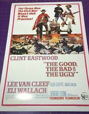 The GOOD, The BAD and The UGLY • A1 size • movie film poster print