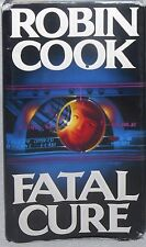 Fatal Cure Robin Cook First Edition 1993 Hardcover