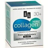 Oceanic AA Collagen Hial 30+ Smooth and Rested Skin Night Cream 50ml