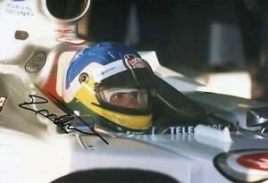 Jacques Villeneuve autograph, FORMULA ONE champ, signed photo