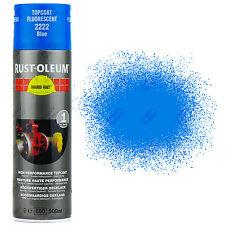 X23 très haute recouvrement Rust-Oleum Bleu Fluorescent Peinture aérosol