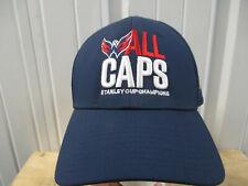 FANATIC Washington Capitals SEWN M/L A-FLEX CAP HAT 2018 STANLEY CUP CHAMPS NWT