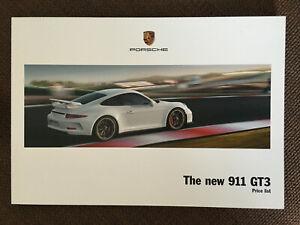 Porsche 911 GT3 Car Price List 08 2013 Superb condition