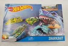 Hot Wheels Shark Bait Play Set Age 4+ Free Shipping New in Box Sharkbait