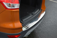 To Fit Ford Kuga (2013+): Chrome Rear Bumper Protector Scratch Guard