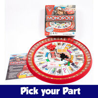 PICK YOUR PARTS - Monopoly Cars 2 Edition Board Game - SPARES / REPLACEMENTS