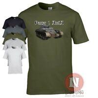 Panzer 1 Ausf A T-shirt WW2 German military history World Tanks armour teeshirt