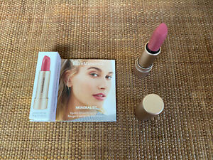 Bare Minerals Mineralist Hydra Smoothing Lipstick Honesty Pink Vegan 1.8g Mini
