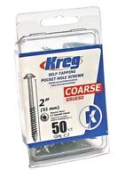 Kreg SML-C2 2-Inch Washer Head #8 Coarse Pocket Screws, 50 Count