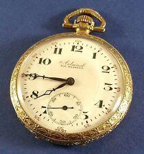 """Vintage Admiral """"Jewel """" Swiss Pocket Watch 15 Jewels 44 mm Diamter"""