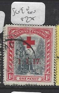 BAHAMAS  (PP1710B)  STAIRCASE  1D  RED CROSS SG 90   VFU