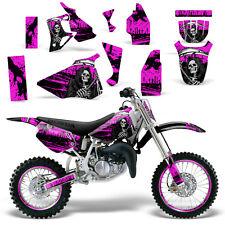 Graphic Kit Honda CR 80 MX Dirt Pit Bike Decals Sticker Wrap CR80 96-02 REAP PNK