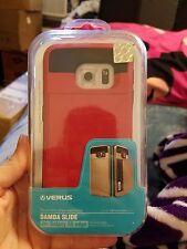 Verus Damda Slide Card ID Pocket Hard Cover For Samsung Galaxy S6 Edge Plus Case
