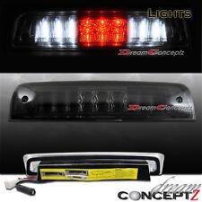 Red / White LED 3rd Brake Cargo Light Smoked Lens for 2009-2012 Dodge RAM Pickup