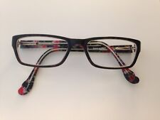 Hot Kiss Eyeglass frames HK17 Black 48/15/130 flex hinge