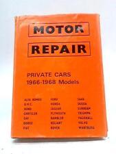 Motor Repair 1966-1968 Models J Dewar Mclintock 1969 Book 50575